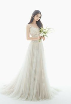 ↻❝ I pretended to be strong, For you ❞ ✎ o ɴ ɢ… # Random # amreading # books # wattpad Pre Wedding Photoshoot, Wedding Poses, Korean Bride, Korean Wedding Photography, Weeding Dress, White Wedding Dresses, Korean Wedding Dresses, Bridal Portraits, Marie