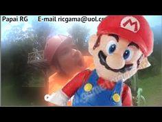 Super Mario Bros Nintendo Papai RG Tirolesa Tyrolean  Hotel Fazenda Arvo...