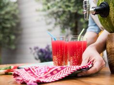 Get Watermelon Punch Keg Recipe from Food Network