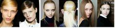 Studio B Hair & Make-up: Liso polido é sucesso nas passarelas de Nova Iorqu...