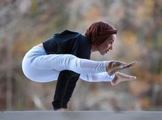 @victoria.arvizu in Firefly Pose wearing our #aloyoga Elevate Legging