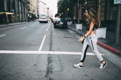 @ModernFit takes her sportswear to the streets.