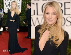 In love with this dress! Kate Hudson In Alexander McQueen – 2013 Golden Globe Awards