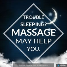 #MassageTherapy aids in giving you a better quality of sleep at night! Schedule with one of our highly referred Therapists. Call 260-925-4500 or online at www.amchealinghands.com Perfect gift for any occasion! Purchase your gift certificates online!!