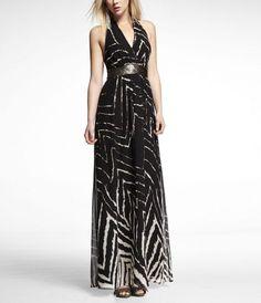 My long dress of Express.