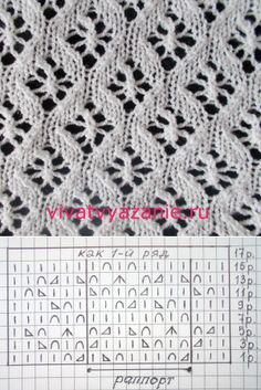 Crochet Patterns Lace Pictures on request openwork patterns knitting needles Lace Knitting Stitches, Lace Knitting Patterns, Knitting Charts, Lace Patterns, Loom Knitting, Knitting Designs, Stitch Patterns, Knitting Needles, Crochet Chart