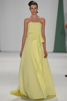 Carolina Herrera Spring 2015 Ready-to-Wear - Collection - Gallery - Look 1 - Style.com