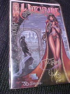 Witchblade #6 comic Signed by All 5 dwoll Smith Turner D-Tron Z mint BB