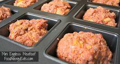 Eggless Mini Meatloaf