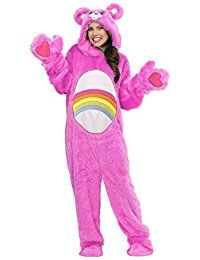 Adult Plus Size Care Bears Classic Cheer Bear Costume Care Bear Costumes, Teddy Bear Costume, Diy Teddy Bear, Cool Costumes, Adult Costumes, Halloween Costumes, Animal Costumes, Cotillion Dresses, Cosy Outfit