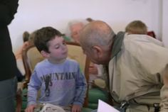 The children and elderly are both teaching each other. What Happens When You Combine a Nursing Home With a Preschool? http://www.visiontimes.com/2015/06/16/what-happens-when-you-combine-a-nursing-home-with-a-preschool.html