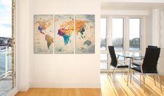 Obraz na plátně - Free as a bird - triptych. Krásné obrazy od GLIX.cz - Rozměry: 120x80 cm