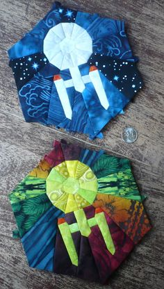 New crazy quilting projects paper piecing 34 ideas Quilting Tutorials, Quilting Projects, Quilting Designs, Sewing Projects, Quilting Ideas, Star Wars Quilt, Star Quilts, Quilt Blocks, Amish Quilts