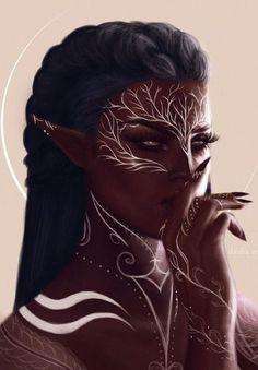 Arte Digital Fantasy, Digital Art Girl, Black Love Art, Black Girl Art, Beautiful Fantasy Art, Fantasy Character Design, Character Art, Character Inspiration, Black Girl Cartoon