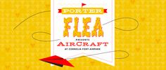 Porter Flea Website banner