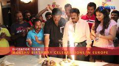 Dictator Team celebrates Mokshagna's Birthday in Europe - Express TV