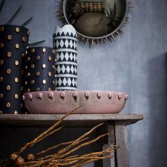 <p>This spring, L'Objet presents an intrepid collection entitled Tulum, inspired by history, raw architecture and spirituality of the Mayan archeological site. The pieces made of ceramic, copper