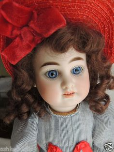 """14 1/2"""" Armand Marseille DEP #1894 Antique Doll Compo Body,Pretty look to this doll."""