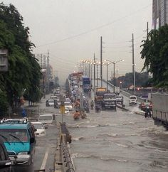 Skyway Buenida, Manila floods August 19th 2013 Photo from: http://instagram.com/p/dL1lvhxUb7/# https://twitter.com/GFORCE_rayan