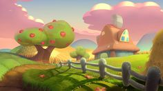 ArtStation - Fantasy backgrounds, Andrei Nicolae