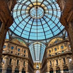 The Mall in Milan, Italy