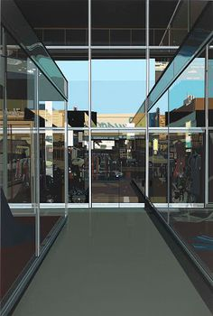 DRAWING Architectures: Richard Estes, the city reflected