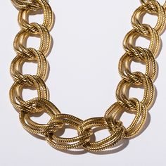 Big Link Necklace in Gold
