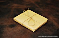 Steampunk wallet Men's wallet Leather slim by JaklinDifferent