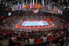 Sport Transfer handball goals on EHF EURO 2016 Poland, Euro, Basketball Court, Goals, Sports, Handball, Hs Sports, Sport