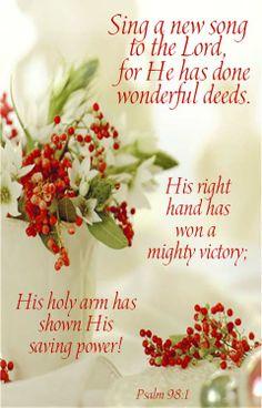 Psalm 98: 1