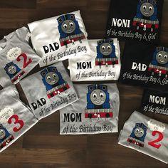 Thomas the Train birthday shirts NOW available!!