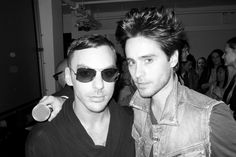 Shannon and Jared Leto - pic by Terry Richardson