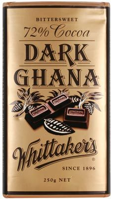 Whittaker's – Dark Ghana Chocolate - 250g Net | Shop New Zealand