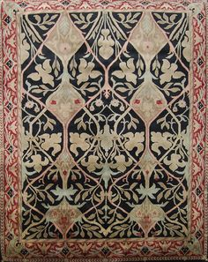 bull rug william morris | william morris