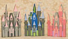 Fantasy : SVG Files for Cricut, Silhouette, Sizzix, and Sure Cuts A Lot Silhouettes, Fairytale Castle, Silhouette Studio Designer Edition, Small Cards, Vintage Fishing, Silhouette Cameo Projects, Disney Scrapbook, Svg Files For Cricut, Fairy Tales