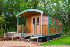 Holiday let in a French Gypsy Caravan