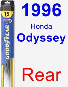 Rear Wiper Blade for 1996 Honda Odyssey - Hybrid