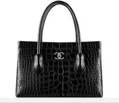 Fall-winter 2014/15 - Large alligator zipped shopping bag
