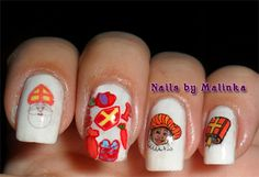Nails by Malinka: Sinterklaas
