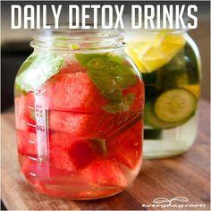 DAILY DETOX DRINKS