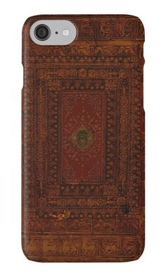 Rustic Engraved Leather Book Cover Design by JoolyA