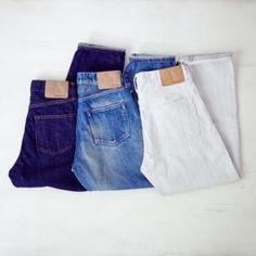 【Men's&Ladies'】ordinary fits オーディナリーフィッツ DENIM CROPPED PANTS デニム クロップドパンツ