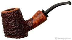 Neerup Basic Partially Rusticated Poker (2) Pipes at Smoking Pipes .com