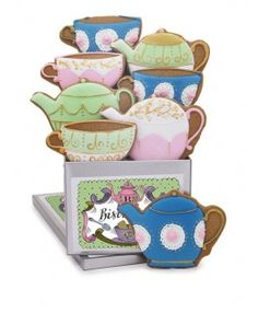 personalised tea for two biscuit tin