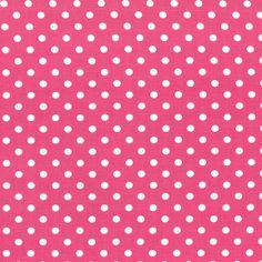 CX2490 DUmb Dots basics polka dots circles ovals fuschia raspberry magenta pink cocoa berry