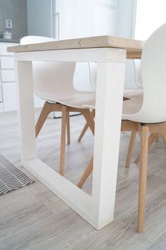 Blogi sisältää sisustamista, remontointia, matkustelua, nähtävyyksiä sekä vinkkejä. Tervetuloa lukemaan! Kitchen Dining, Dining Table, Sweet Home, Architecture, House, Furniture, Home Decor, Banks, Chairs