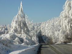 Bieszczady in the Winter, Poland