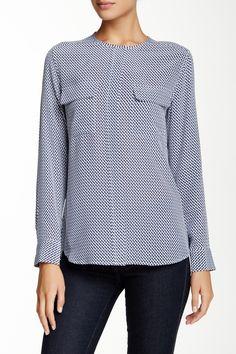 Lynn Silk Shirt by Equipment on Autumn Winter Fashion, Fall Winter, Nordstrom Rack, Silk, Blouse, Shirts, Tops, Women, Blouses