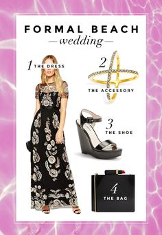 What To Wear To a Beach Wedding: 3 Perfect Outfits | StyleCaster