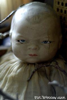 Creepy Old Doll